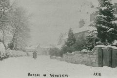 000914 Village in winter 1908