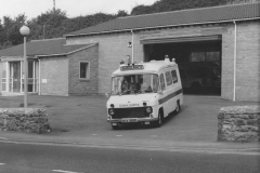 000123 Ambulance Station, Butts, Ilminster 1977