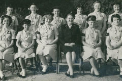 000625 Red Cross cadet officer and senior cadets, Ilminster c1960