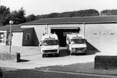 001033 Ambulance Station, Butts, Ilminster c1987