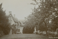 001096 The vicarage, Ashill c1900