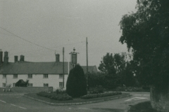 002465 Flower triangle at Ashill Inn c1960