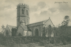 001091 Barrington Church c1900