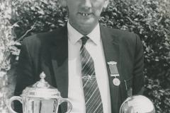 000199 Bryn Mattravers, National Indoor Bowls Champion 1972/1973