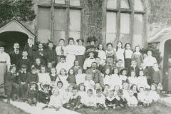 002539 Broadway Congregational Chapel Sunday School c1910
