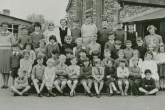 002652 Staff and pupils at Broadway School c1963