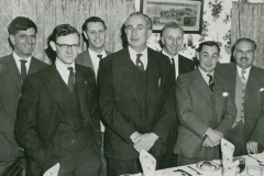 002660 Broadway Cricket Club's annual dinner at the Royal Oak, Ilminster 1965