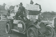 000240 The Greenway Road entry, Ilminster Carnival c1920