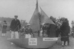 000627 Ilminster carnival entry, 'Shamrock V' c1935