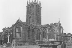 000184 St Mary's Minster Church from the south enterance gate c1970