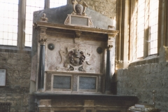 002327 Wadham tomb and memorial at St Mary's Minster Church c1990
