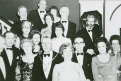 003283 Group at a police ball, Ilminster 1971