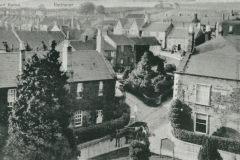 000878 Court Barton from the church tower 1910