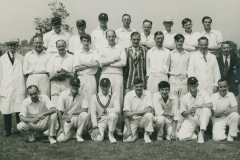 000205 Ilminster Cricket Club versus Millfield Cricket Club c1949