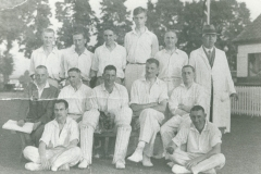 000207 Ilminster Grammar School Cricket Team showing John Harding, later Field Marshall Lord Harding of Petherton 1911