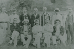 000609 Unknown cricket team, Ilminster 1909