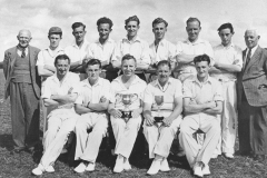 002646 Broadway Cricket Club, winners of the Lord Portman Cup and Ilminster Knock Out Cup1949