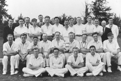002647 Broadway Cricket Club and Ilminster Grammar School at Ilminster Knock Out Cup Final 1949
