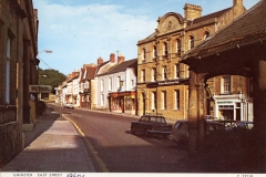 000524 Marshlesea's Garage on the left c1960s