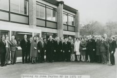 002365 The opening of Glacier Metals Company factory by John Peyton MP 1971