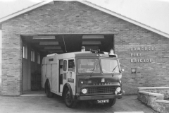 000122 New fire station opened at Butts, Ilminster 1967