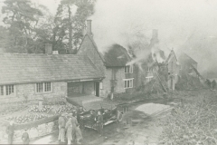 000412 Fire at The Smithy, Whitelackington 1935