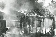 000508 Fire at the Auction Ring and Sale Yard, Ilminster 1983