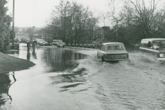000426 Flooding on A358 Donyatt c1980