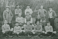 000606 Ilminster Football Club team and officials c1920