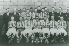 000608 Ilminster Football Club team and officials 1936-1937