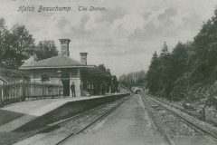 000916  Hatch Beauchamp Railway Station 1905