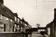 000111 Strawberry bank before the road widening c1900