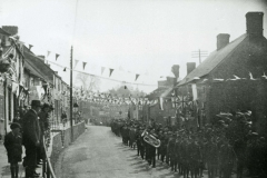 000112 Silver Jubilee parade showing the Territorials leading 1935
