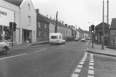 000121 Strawberry Bank viewed from the Triangle, note zebra crossing now replaced with Pelican crossing 1976