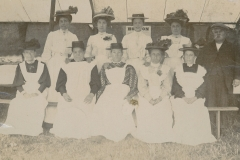 000287 Group at Horton Fete c1900