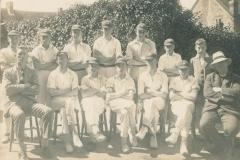 000213 Ilminster Grammar School Cricket Team 1920