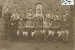 000217 Ilminster Grammar School Football Team 1933-34