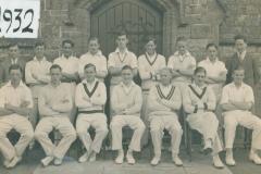 000218 Ilminster Grammar School Cricket Team 1932