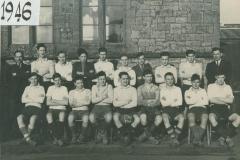 000219 Ilminster Grammar School Rugby Team 1946