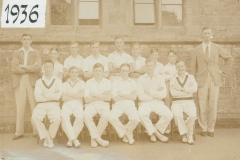 000220 Ilminster Grammar School Cricket Team 1936