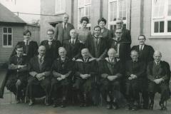 000225 Ilminster Grammar School staff in year of closure 1971