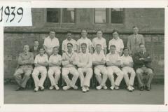002358 Ilminster Grammar School Cricket Team 1939
