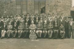 003024 Ilminster Grammar School pupils of Hanning Cock House and headmaster 1935