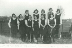 000214 Ilminster Girls Grammar School staff XI, 1937