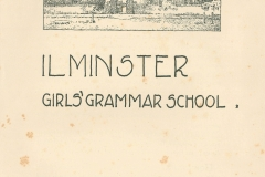 000713 School prospectus, Ilminster Girls Grammar School 1945