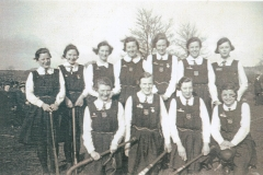 003440 Hockey Team, Ilminster Girls Grammar School 1936