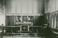000846 Interior of Ile Abbotts Church c1906