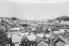 000363 View east from St Mary's Minster Church tower 1966