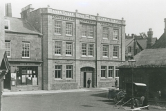 000130 Cornhill showing the Post Office and what was later to become the Gooch and House factory 1917