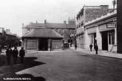002057 Showing Marshalsea's Garage with a Pratt's petrol pump on the right c1925